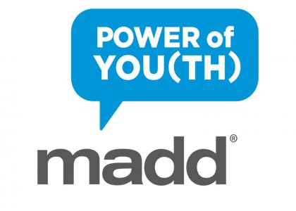 MADD Power of You(th) Logo
