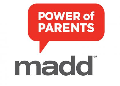 MADD Power of Parents Logo