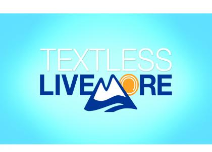 TextLess Live More Logo
