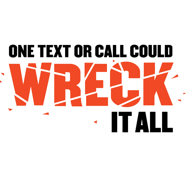 One Wreck or Call Banner Logo